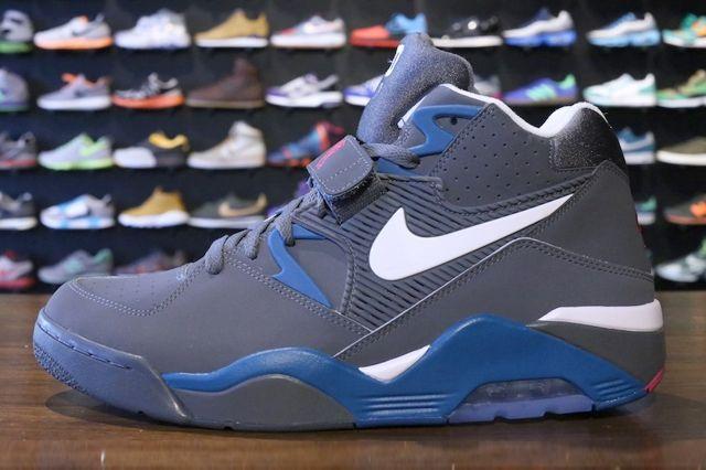 Nike Air Force 180 Dark Grey Royal 2