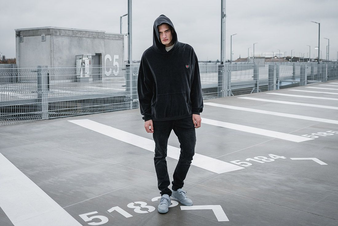 Adidas Yeezy Powerphase Grey On Foot Sneaker Freaker 8