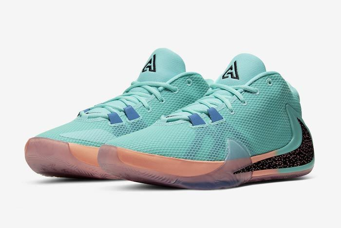 Nike Zoom Freak 1 All Bros Turquoise Pair