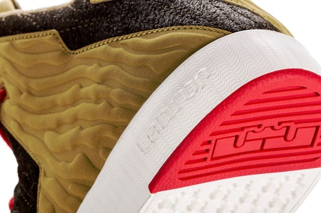 Nike Le Bron 11 Lifestyle King Of Miami Heel
