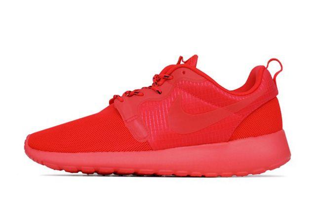 Nike Roshe Run Hyperfuse Laser Crimson