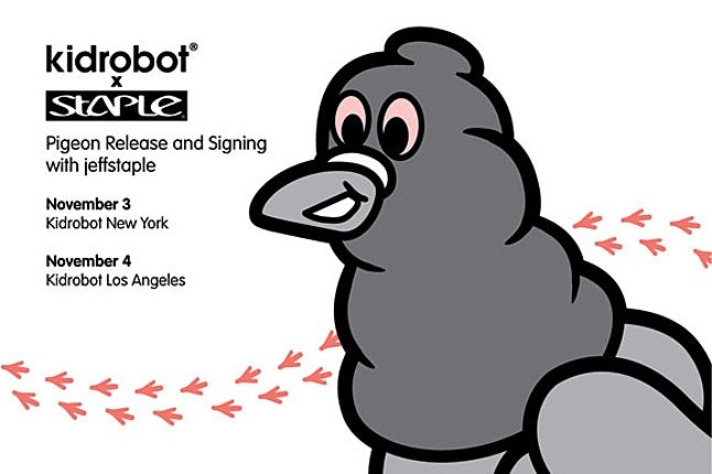 Kidrobot Jeff Staple Pigeon 4 1