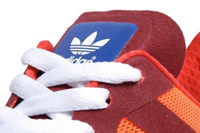 Adidas Zx700 Kazuki Kuraishi Orange Tongue Detail 1