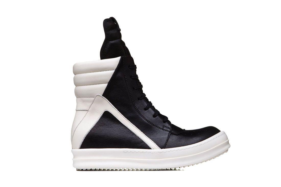 Sneaker Freaker Best Of 2010 2019 Rick Owens Geobasket Lateral