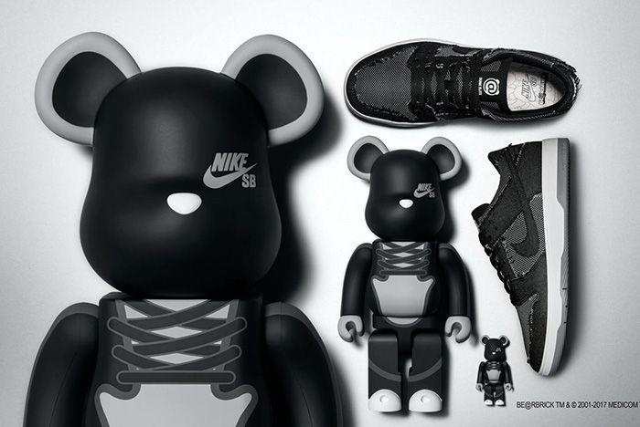 Nike Sb Dunk Medicom Release Sneaker Freaker