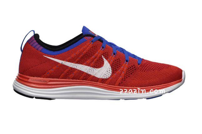 Nike Flyknit Lunar1 Red Purple 1