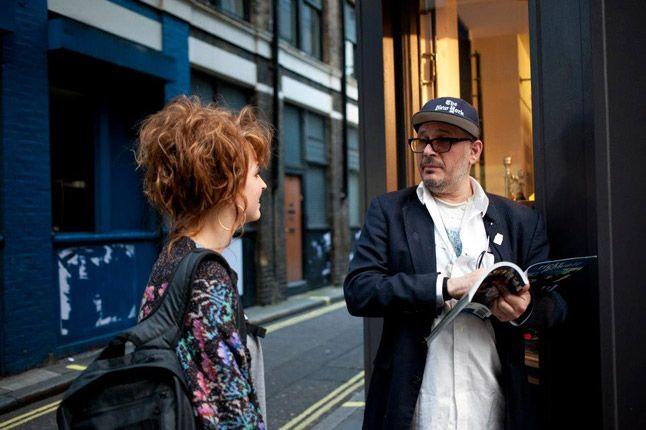 Ricky Powell Foot Patrol London Pony Launch Corner Chat 1