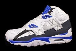 Nike Air Trainer Sc High Metallic Platinum Cobalt Blue Thumb