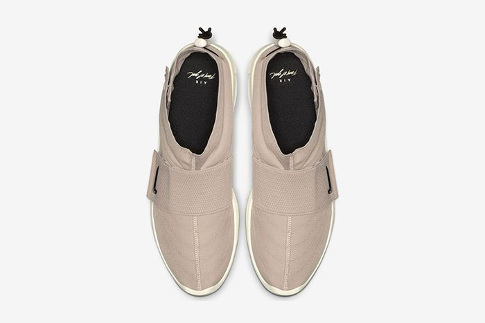 Nike Air Fear Of God Moc Particle Beige At8086 200 Release Date Top Down