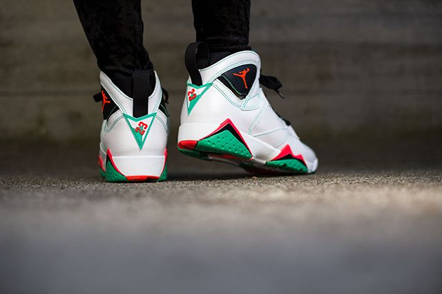 Air Jordan 7 Wmns Verde 3