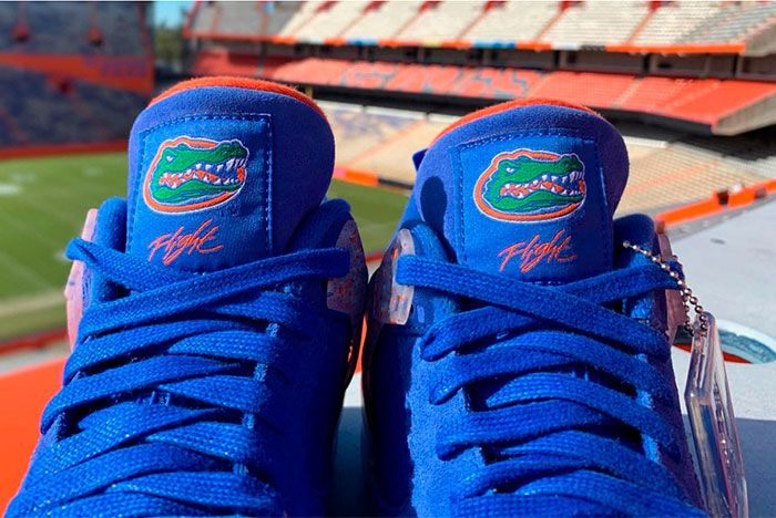 Air Jordan 4 Florida Gators Release 2