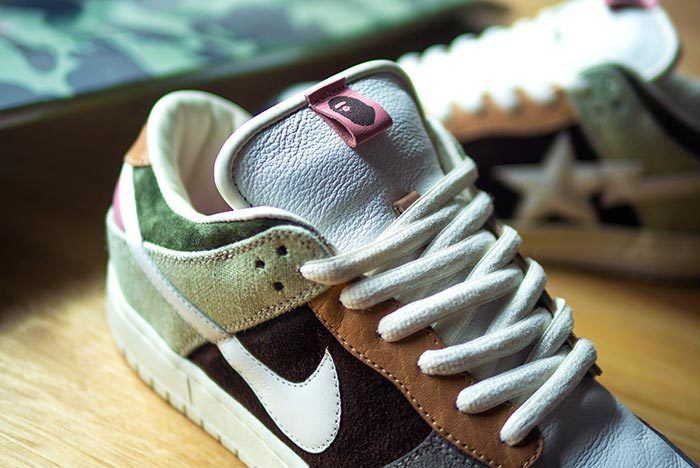 Bespoke Nike Sb Bapesta 1