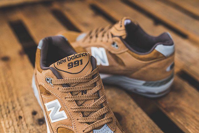 New Balance 991 Brown 10
