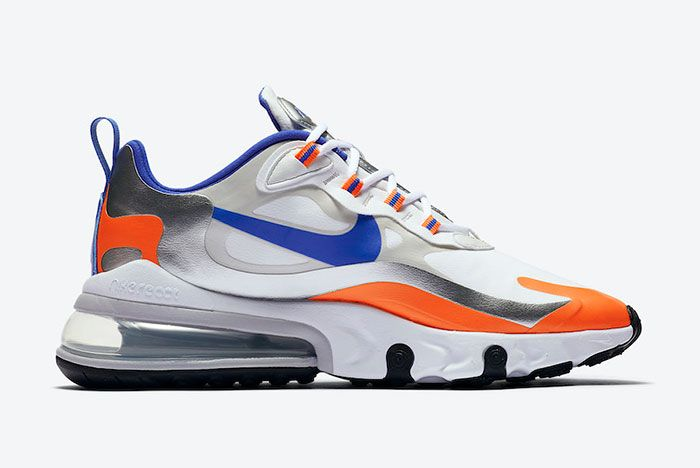 Nike Air Max 270 React Knicks Cw3094 100 Medial