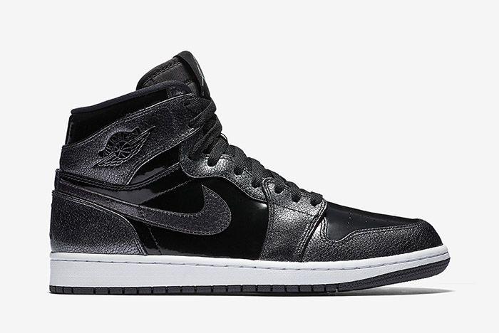 Air Jordan 1 Black Patent 5
