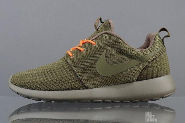Nike Roshe Run 2Faced Green Profile 1