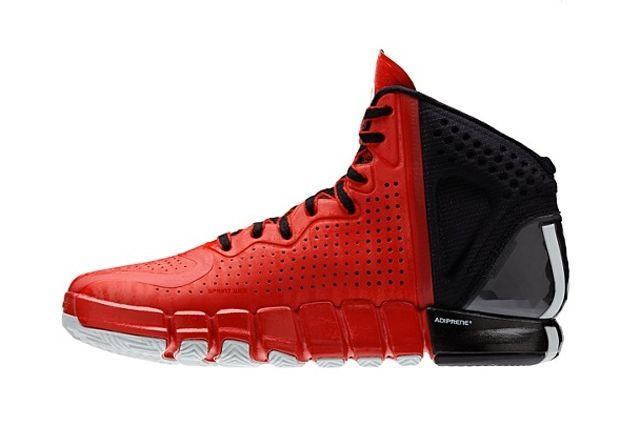 Adidas D Rose 4 Red Black 1