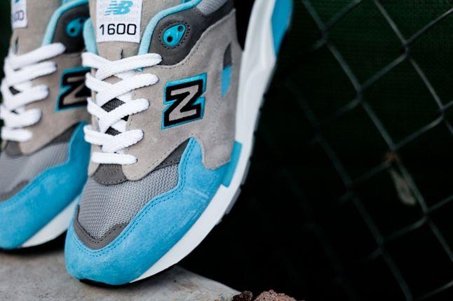 New Balance 1600 Elite Blue Midfoot Detail 1