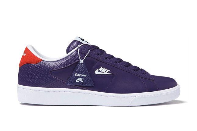Supreme Nikesb Tennis Classic Purple Profile 1
