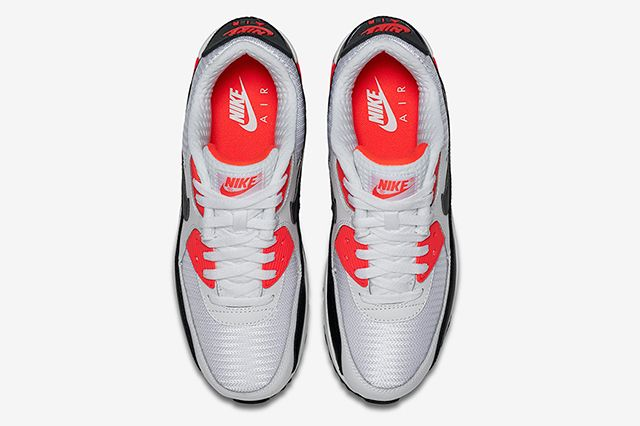 Bright Crimson Nike Air Max 90 Essential 2