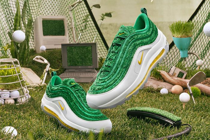 Nike Air Max 97 Golf Grass Styled