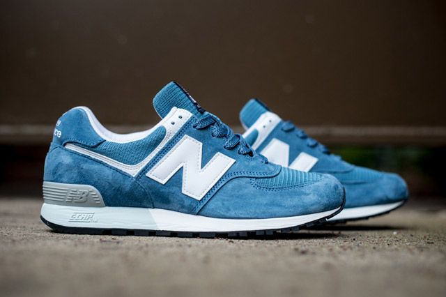 Nordstrom X Newbalance576 Skyblue Sideview