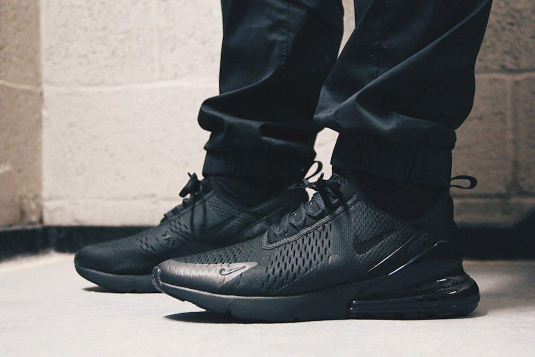 5Nike Air Max 270 Triple Black Release Date Sneaker Freaker