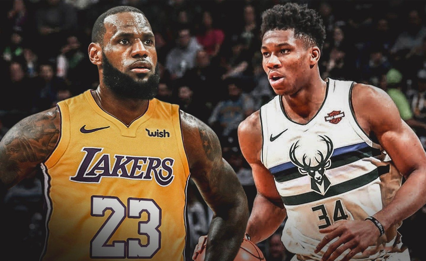 Versus Team Lebron Versus Team Giannis