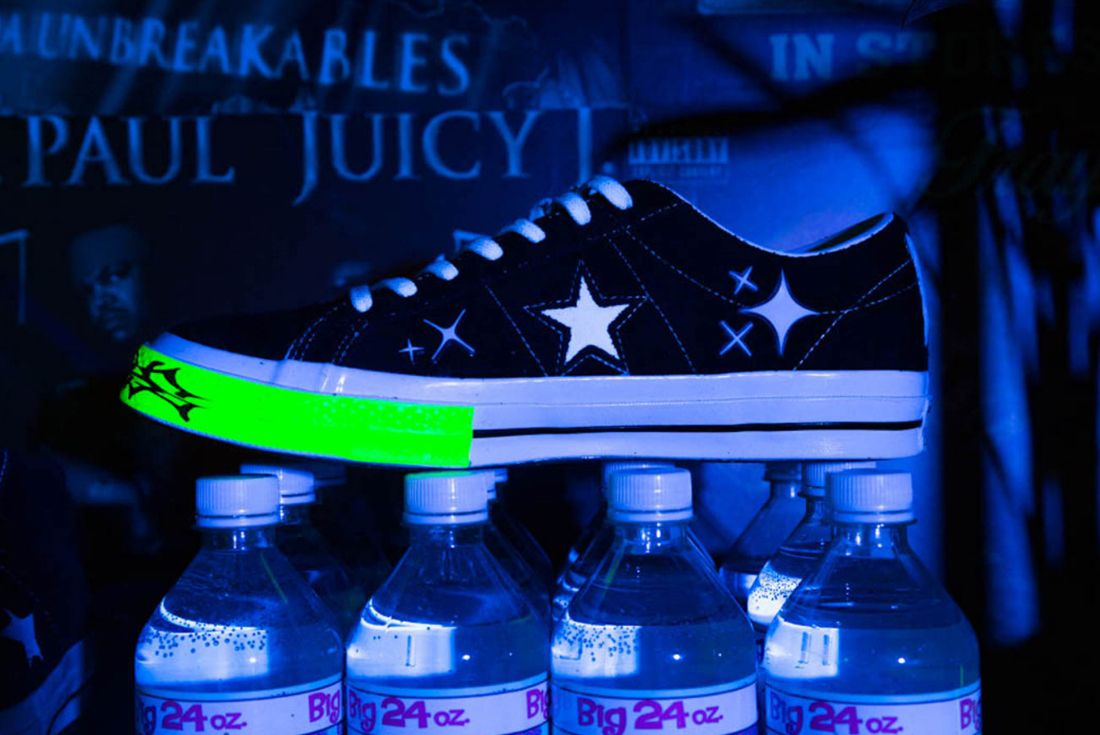 Yung Lean X Converse One Star 3