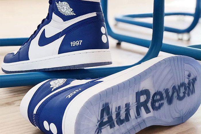 Air Jordan 1 Colette Au Revoir