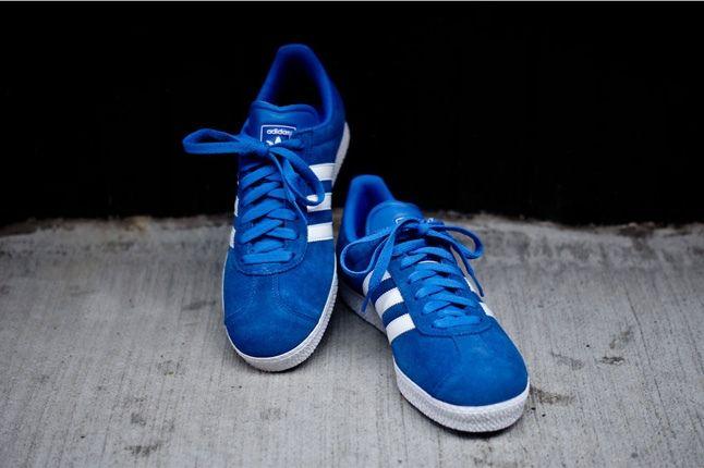 Adidas Gazelle Ii Blue Front Hero 1