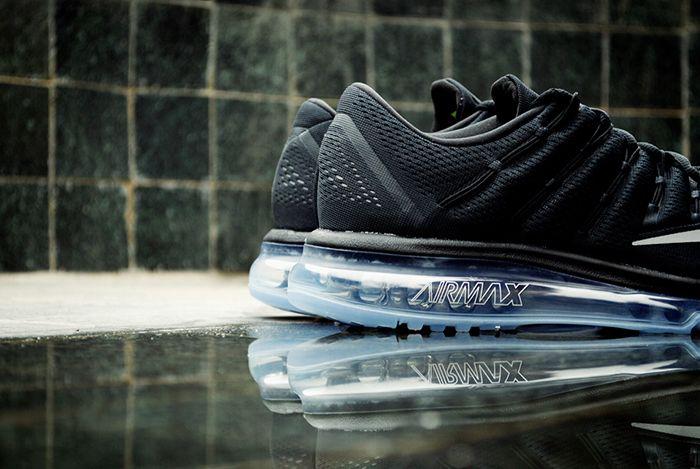Nike Air Max 2016 Black White 8