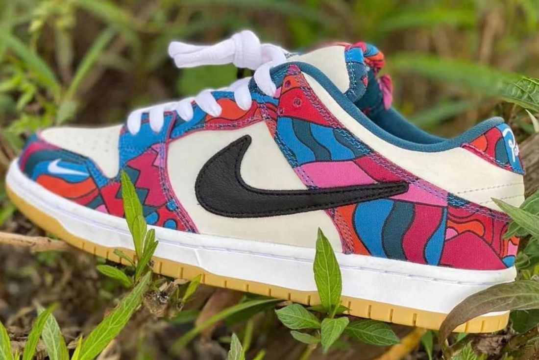 parra x nike sb dunk low leaked look