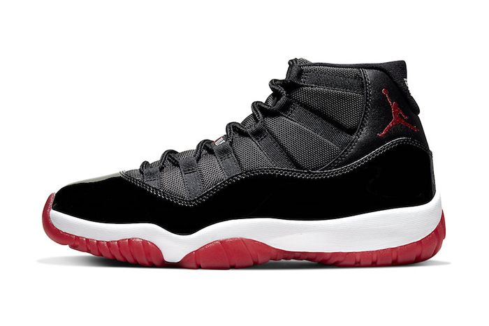 Air Jordan 11 Bred 2019 Retro Official 378037 061 Release Date Lateral