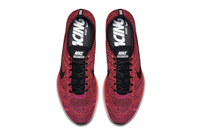 Nike Flyknit Racer Acai Berry 4