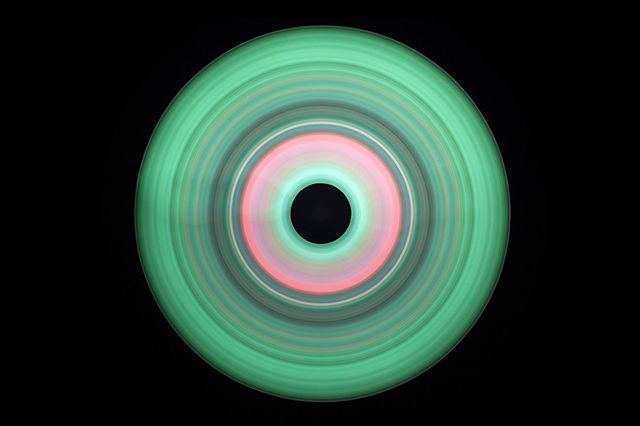 Concentric Disks Art 3