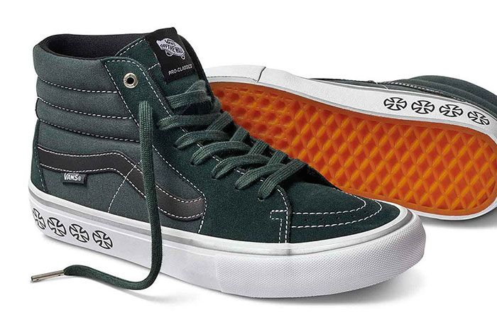 Vans Independent Sk8 Hi Sneaker Freaker