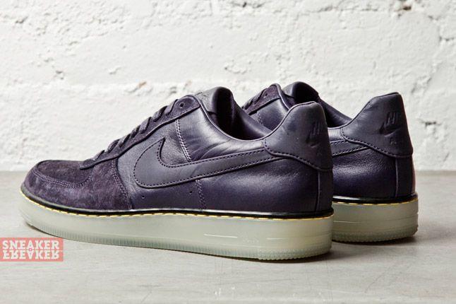 Nike Af1 Downtown Dark Purple 2