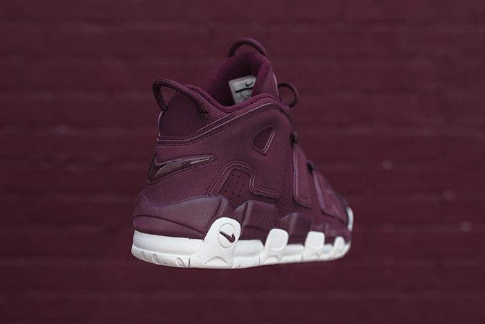 Nike Air More Uptempo Night Maroon Burgundy 6