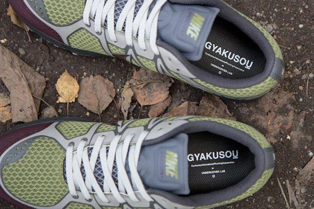Undercover Nike Lunarspeed Lite Gyakusou Green Burgundy Grey Top 1