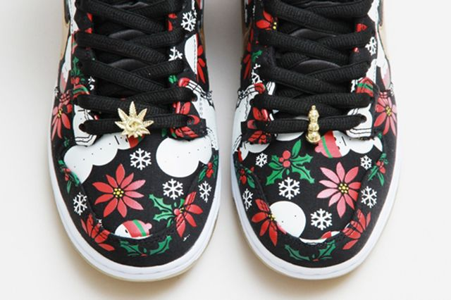 Concepts Nike Sb Dunk High Ugly Christmas Sweater 22