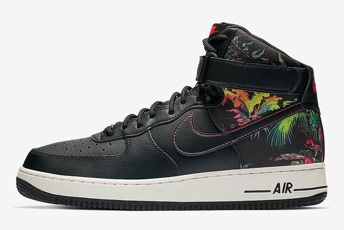 Nike Air Force 1 Floral Side Shot 1