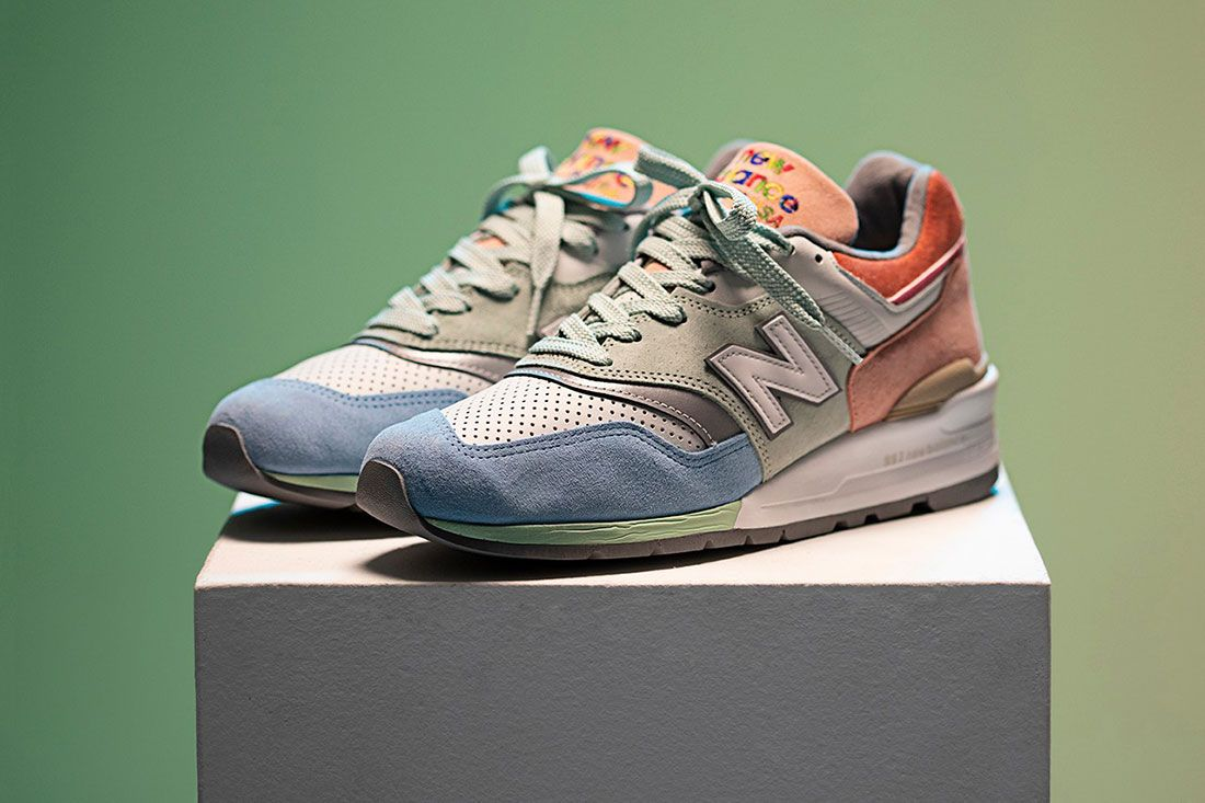 Todd Snyder New Balance 997 Love Pair