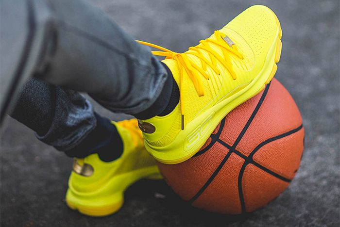Under Armour Curry 4 Yellow Sneaker Freaker