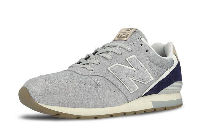New Balance 996 Mrl996 Ta Grey Suede 4