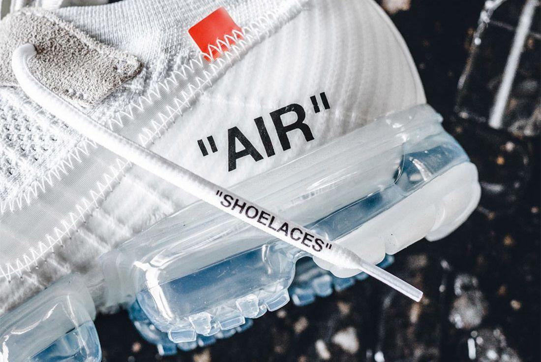 Off White X Nike Air Vapor Max White 6