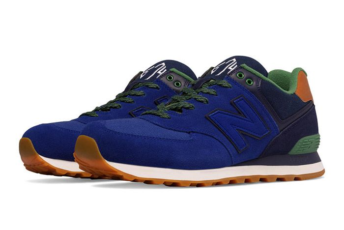 New Balance 574 Collegiate Pack Blue 1