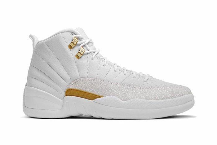 Drake X Air Jordan 12 Ovo White Stingray