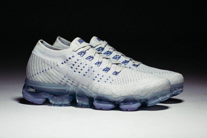 Nike Lab Air Vapor Max Womens White Blue2