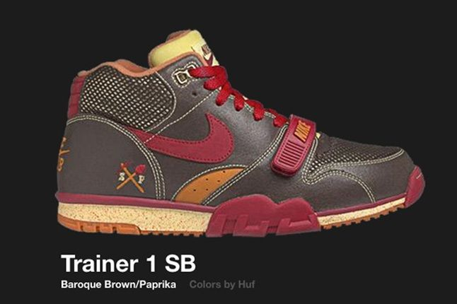 Nike Trainer 1 Sb Huf 2005 2